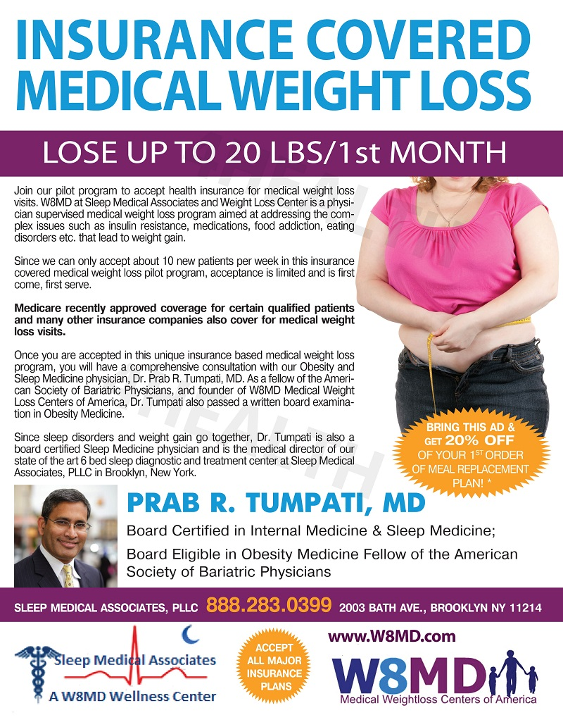 W8MD's New York City Insurance Weight Loss